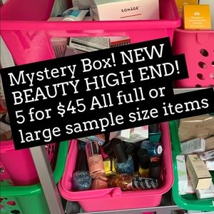Other - Mystery Box HIGH END BEAUTY 5 for $45 Brand New